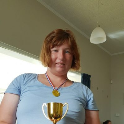 Destiny overall 1st place in NZ care sport day